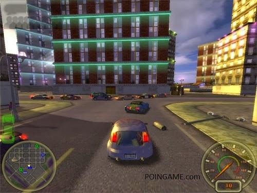 nikmati pengalaman baru bermain game car racing dengan lintasan di tengah kota grafis bergaya metropolis yang menegangkan